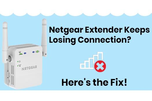 Netgear Extender Keeps Losing Connection Here's the Fix!