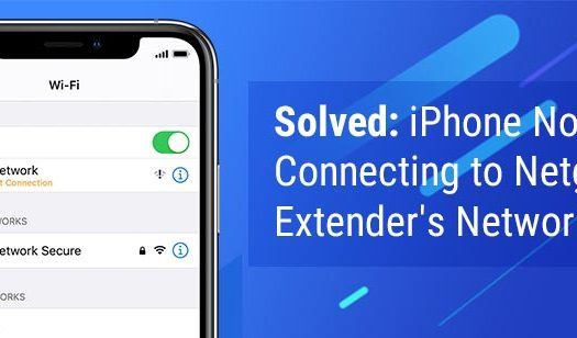 Solved: iPhone Not Connecting to Netgear Extender's Network